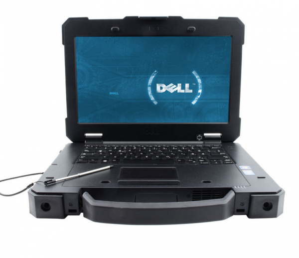 DELL Latitude 14 Rugged Extreme 7404 I7 Intel Core i7-4650U,1.7GHz, 16GB, 512GB SSD, Nvidia,14 palců, W8.1 Pro