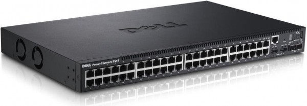 DELL PowerConnect 5548 48 portů, 10/100/1000 BASE-T, Auto MDI/MDIX, 2x SPF+ slot, QoS, Multicast (1)