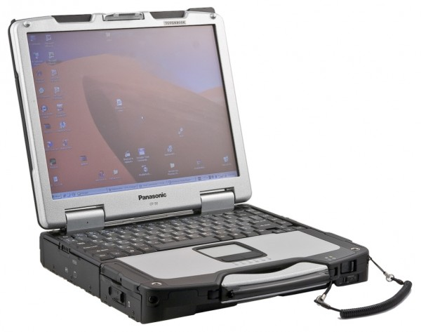 "PANASONIC TOUGHBOOK CF-30 MK3 13,3"" Core 2 Duo SL9300 4GB 240GB SSD WLAN WIN 7"