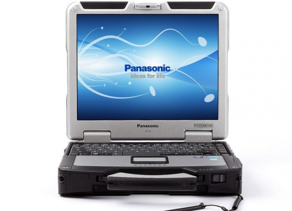 "Panasonic ToughBook CF-31 MK1 i5-M520 2.4GHz, 8GB, 256 GB SSD, 13.1"" Dotykový, Win 7"