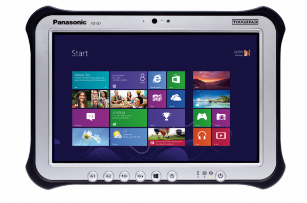 Panasonic Toughpad FZ-G1 MK3 Intel Core i5-5300U 2,3GHz 8GB 256GB SSD 4G/LTE Win 10