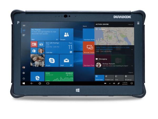 DURABOOK R11AH - rugged tablet (2)