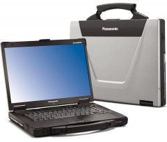Panasonic Toughbook CF-52 MK2 Intel Core2 Duo, 4GB, 320GB, 15,4, RS-232, Windows 7 Pro