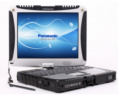 Panasonic Toughbook CF-19 MK2 Intel Core Duo U7500, 1.06GHz ULV, 2GB, 120GB, 10.4 palce, Win 7