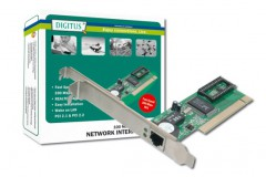 Digitus Fast Ethernet PCI Card 10 / 100Mbit Realtek WOL