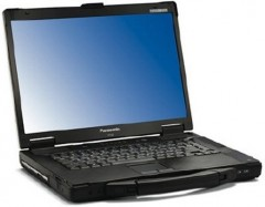 Panasonic Toughbook CF-53 MK2 DOTYKOVÝ Intel Core i5 3320M 2,6GHz 8 GB RAM 500GB HDD, Win 7 RS-23