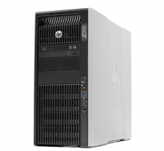 HP WORKSTATION  Z820 2x Xeon E5-2640 v2,  Ram 64GB, 256SSD + 3TB HDD Quadro K4000 W10 Pro