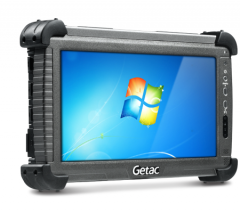 Getac E110 Fully Rugged Tablet 10,1, N2800, 4GB, 64GB SSD, RS-232, RJ-45, W7 PRO