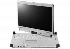 "Panasonic Toughbook CF-C2 MK2 Intel Core i5-4300U 1,9Ghz 4GB 256GB SSD 12.5"" Touch Win 10"