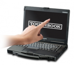 Panasonic Toughbook CF-53 MK1 DOTYKOVÝ Intel i5 2520M  2,5GHz 4 GB RAM 320GB HDD 3G Win 7 RS-232